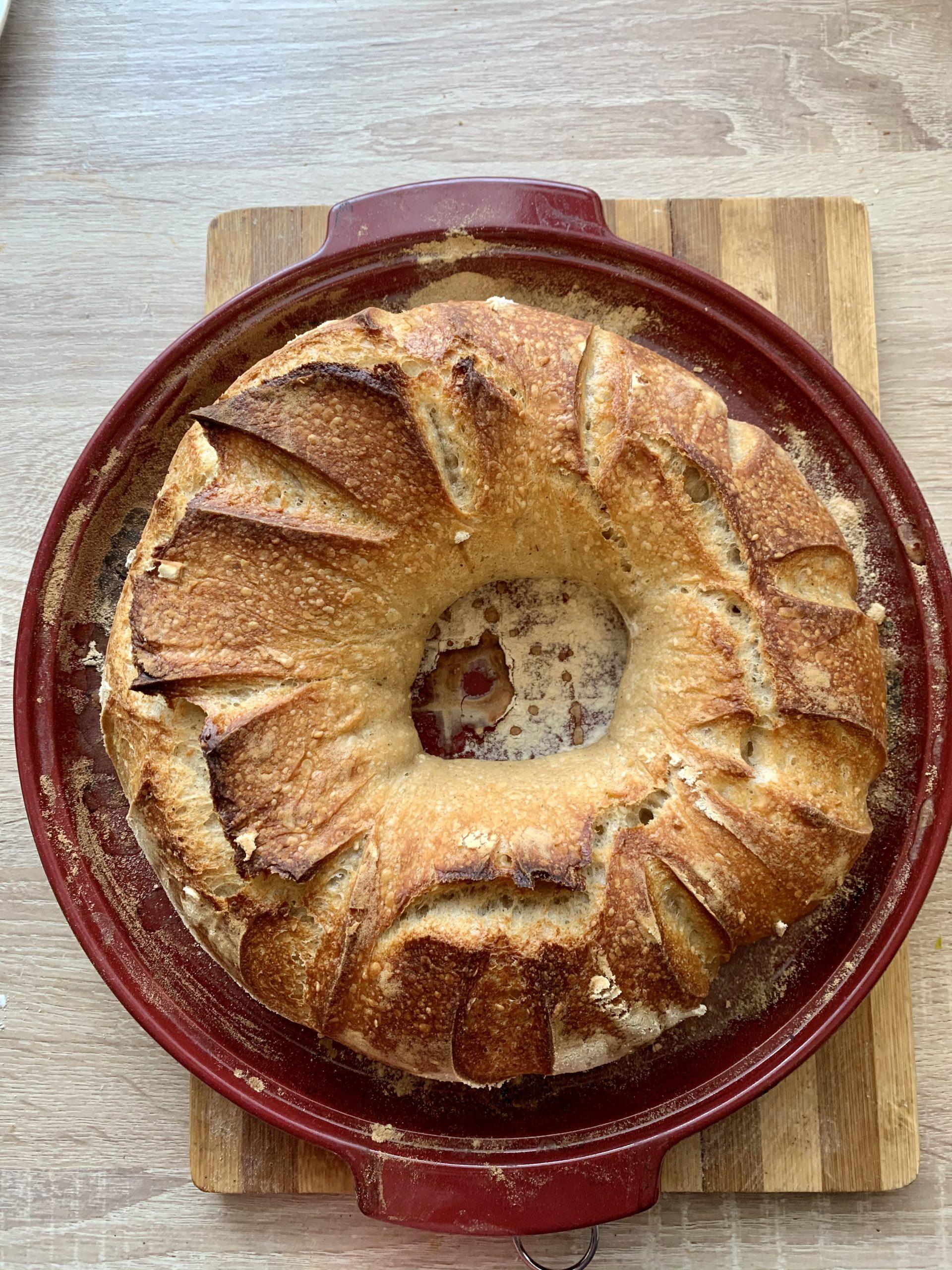 pâine fantastică cu maia naturală
