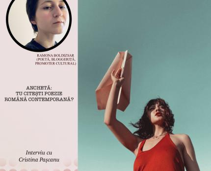 anchetă: tu citești poezie română contemporană? Interviu cu Cristina Pașcanu